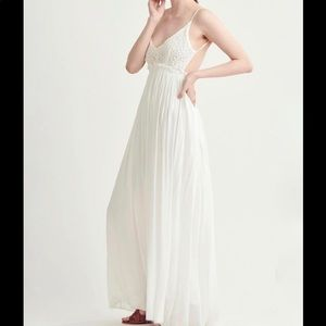 Free People Love Song Crotched Maxi Dress